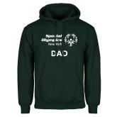 Dark Green Fleece Hood-Dad