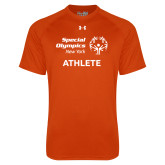 Under Armour Orange Tech Tee-Athlete