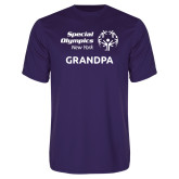 Performance Purple Tee-Grandpa