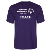 Performance Purple Tee-Coach