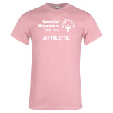 Light Pink T Shirt-Athlete
