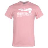 Light Pink T Shirt-Law Enforcement Torch Run