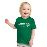 Toddler Kelly Green T Shirt-Primary Mark Horizontal