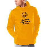 Under Armour Gold Armour Fleece Hoodie-Primary Mark Vertical