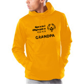 Under Armour Gold Armour Fleece Hoodie-Grandpa