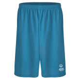 Performance Classic Light Blue 9 Inch Short-Primary Mark Vertical