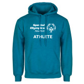 Heathered Sapphire Fleece Hoodie-Athlete