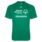 Under Armour Kelly Green Tech Tee-Grandpa