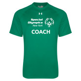 Under Armour Kelly Green Tech Tee-Coach