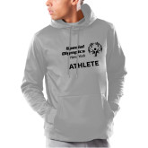 Under Armour Grey Armour Fleece Hoodie-Athlete