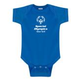 Royal Infant Onesie-Primary Mark Vertical
