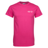 Cyber Pink T Shirt-Primary Mark Horizontal