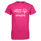 Cyber Pink T Shirt-Athlete