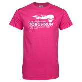 Cyber Pink T Shirt-Law Enforcement Torch Run