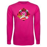 Cyber Pink Long Sleeve T Shirt-Polar Plunge