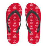 Full Color Flip Flops-Primary Mark Vertical