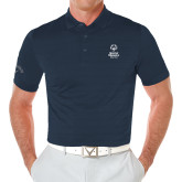 Callaway Opti Vent Navy Polo-Primary Mark Vertical