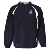 Holloway Hurricane Navy/White Pullover-Primary Mark Vertical