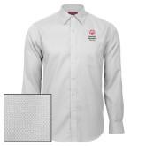 Red House White Diamond Dobby Long Sleeve Shirt-Primary Mark Vertical