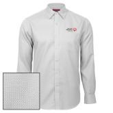 Red House White Diamond Dobby Long Sleeve Shirt-Primary Mark Horizontal