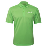 Lime Green Silk Touch Performance Polo-Primary Mark Horizontal