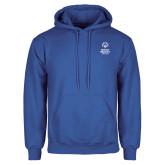 Royal Fleece Hoodie-Primary Mark Vertical