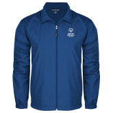 Full Zip Royal Wind Jacket-Primary Mark Vertical