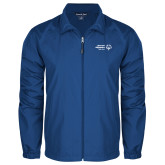 Full Zip Royal Wind Jacket-Primary Mark Horizontal