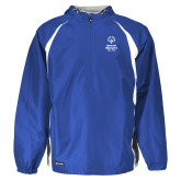 Holloway Hurricane Royal/White Pullover-Primary Mark Vertical