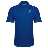 Royal Textured Saddle Shoulder Polo-Primary Mark Vertical