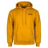 Gold Fleece Hoodie-Primary Mark Horizontal