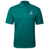 Teal Silk Touch Performance Polo-Primary Mark Vertical