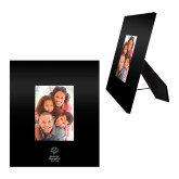 Black Metal 5 x 7 Photo Frame-Primary Mark Vertical Engraved