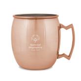 Copper Mug 16oz-Primary Mark Vertical Engraved