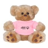 Plush Big Paw 8 1/2 inch Brown Bear w/Pink Shirt-Primary Mark Horizontal