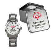 Mens Stainless Steel Fashion Watch-Primary Mark Vertical