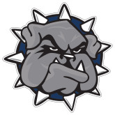 Extra Large Decal-Bulldog Head, 18 inches wide