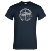 Navy T Shirt-Womens Basketball GAC Conference Champions