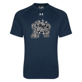 Under Armour Navy Tech Tee-Bulldog