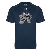 Under Armour Navy Tech Tee-Bulldog