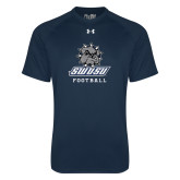 Under Armour Navy Tech Tee-Football