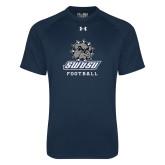 Under Armour Navy Tech Tee-Football