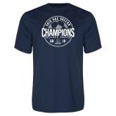Performance Navy Tee-2019 GAC Soccer Champions