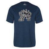 Performance Navy Tee-Bulldog