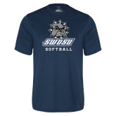 Performance Navy Tee-Softball