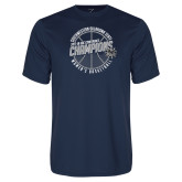 Performance Navy Tee-Womens Basketball GAC Conference Champions