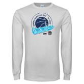 White Long Sleeve T Shirt-2019 Womens Back To Back Basketball Champions