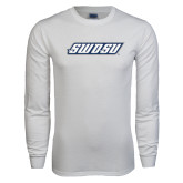 White Long Sleeve T Shirt-SWOSU