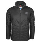 Columbia Mighty LITE Charcoal Jacket-Bulldog Head
