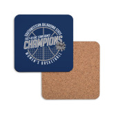 Hardboard Coaster w/Cork Backing-Womens Basketball GAC Conference Champions